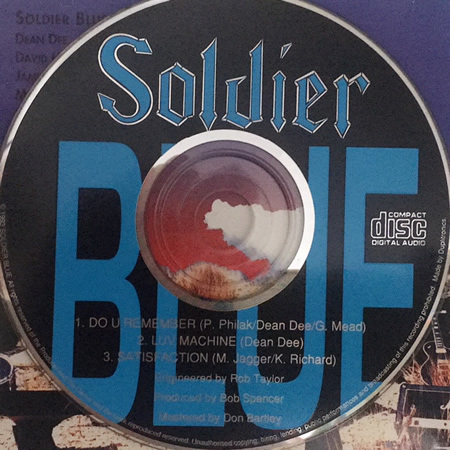 Soldier Blue CD