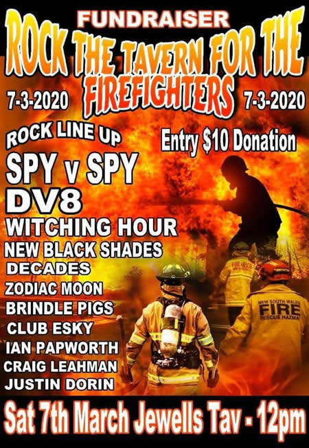 Rock the Tavern for thr Firefighters